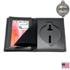 Pittsburgh Police Officer Hidden Badge Wallet