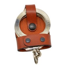 Perfect Fit Bikini Handcuff Case - Tan Leather