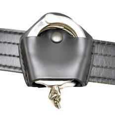 Open Top Leather Handuuff Case