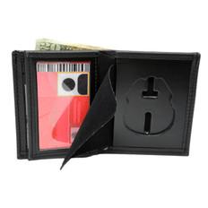 Florida Sheriff Investigator Star Wreath Badge Wallet - E402FLA