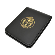 Perfect Fit Leather Triform Evidence Book Cover - 3.5 x 5 - Toronto Police