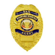 Deluxe Bail Enforcement Agent Badge
