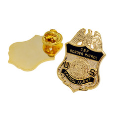 DHS U. S. Border Patrol Agent Mini Badge Lapel Pin