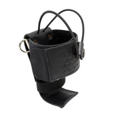 Perfect Fit Leather UNIVERSAL FIT Adjustable Fire Radio Holder - Basketweave
