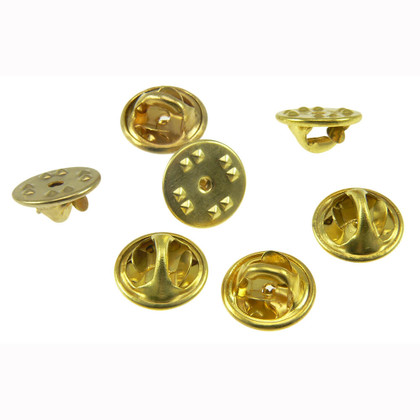 68ab9a1a59bfa Military Clutch Butterfly Clasp Pin Backs   Lapel Pin Backs   Pin Back