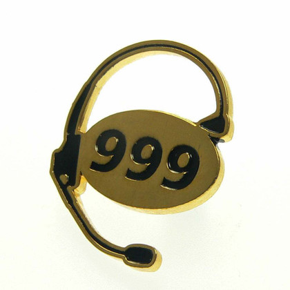 999 UK Emergency Dispatcher Lapel Pin