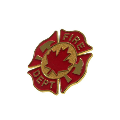 Canada Fire Department Lapel Pin