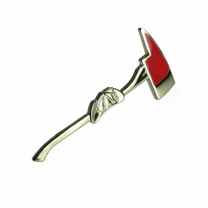 Firefighter Fire Pickaxe Lapel Hat Pin Tie Tac