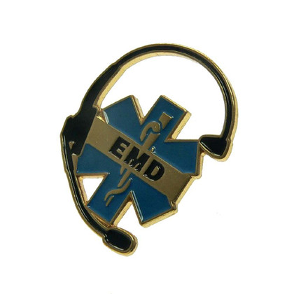 Emergency Medical Dispatcher EMD Lapel Pin