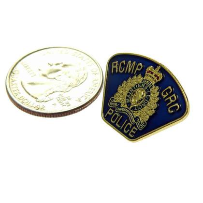Canada RCMP GRC Police Shoulder Flash Lapel Pin