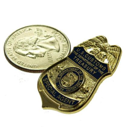 U S Customs Special Agent Mini Badge Pin