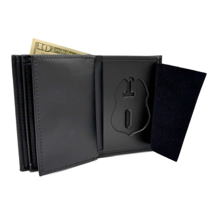 TSA Officer Badge Wallet with Double ID Slots