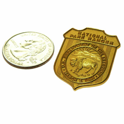 National Park Ranger Mini Badge Pin