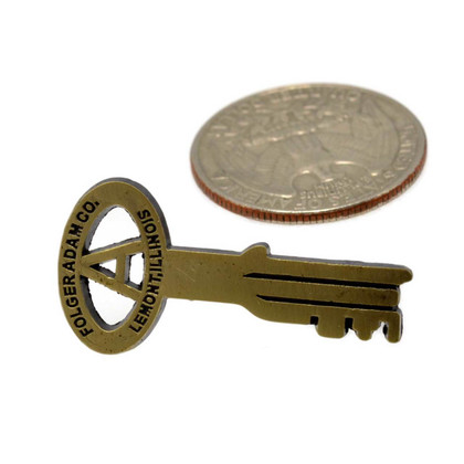 Folger Adams Key Corrections Lapel Pin