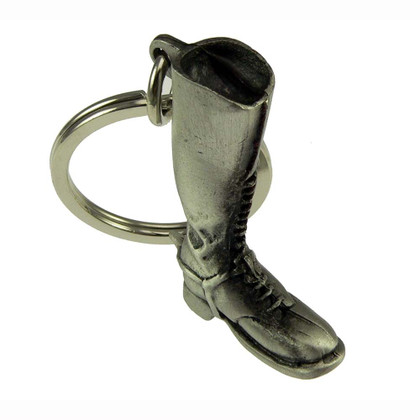 Royal Canadian Mounted Police (RCMP) 3D Pewter Boot Key Ring