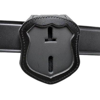NYPD Officer Recessed Clip On / Around Neck Badge Holder