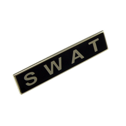 SWAT Team Police Uniform Citation Bar Lapel Pin