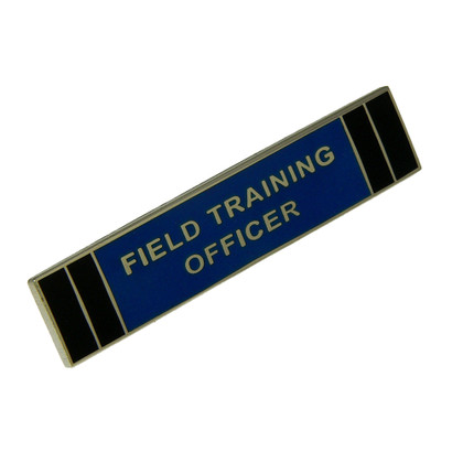Field Training Officer FTO Police Uniform Citation Bar Lapel Pin