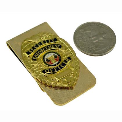 Security Enforcement Officer Money Clip