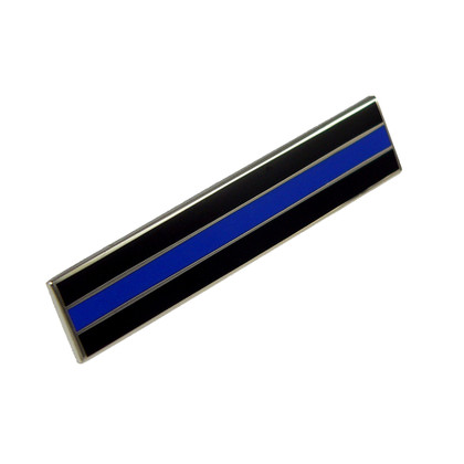 Thin Blue Line Police Mourning Citation Bar