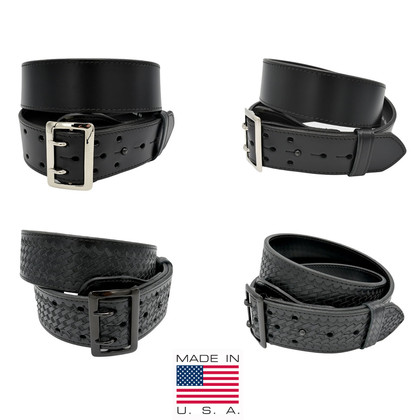 Perfect Fit Sam Browne Premium Leather Duty Belt