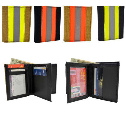 Firefighter Bunker Gear Bifold Wallet