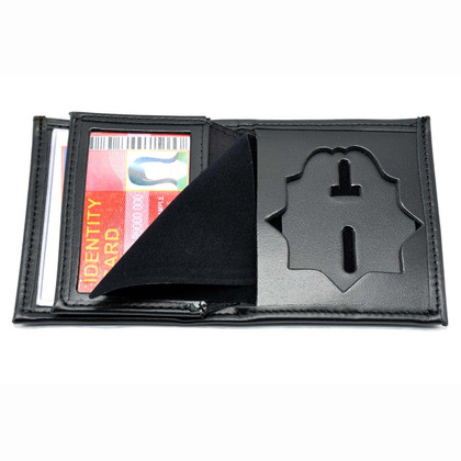 Denver Police Officer Badge Wallet Bifold Leather