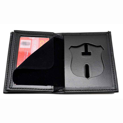 Atlanta Police Patrol Officer Badge Wallet Leather Perfect Fit 104
