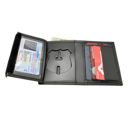NYPD New York Police Department Officer Recessed Badge Wallet