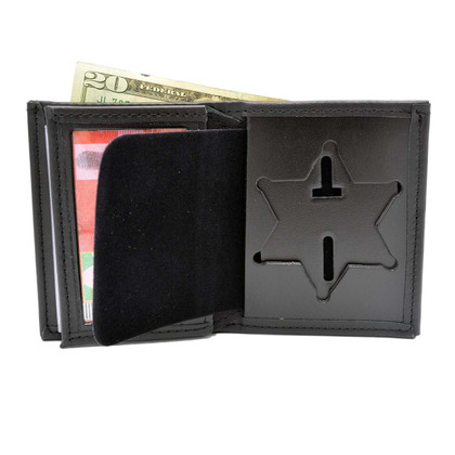 Los Angeles County Sheriff Police Badge Wallet Leather Perfect Fit 104