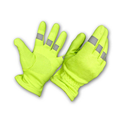 High Visibility Glove with 3M Reflective Strips