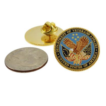 Department of Veterans Affairs Seal Lapel Pin