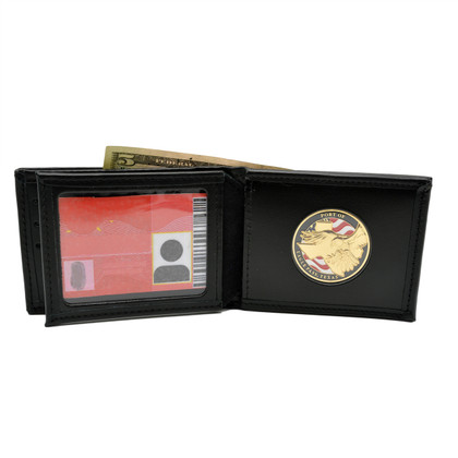 Challenge Coin Credit Card Wallet