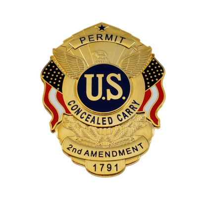 Concealed Carry Permit Badge