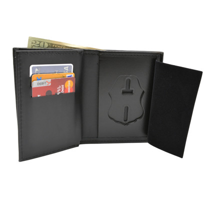 CBP Customs Border Patrol Leather Wallet with 3 CC Holder