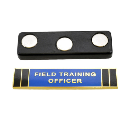 Magnetic Field Training Officer FTO Citation Bar Gold