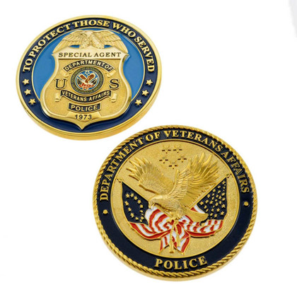 Veterans Affairs Special Agent Challenge Coin