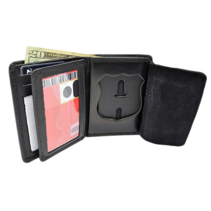 Cobra Tufskin NYPD Officer Bifold Premium Leather Badge Wallet