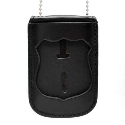 NYPD Officer Neck Badge ID Holder with Chain