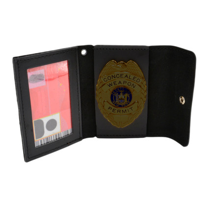Perfect Fit Non Recessed Universal Badge and ID Case Snap Closure