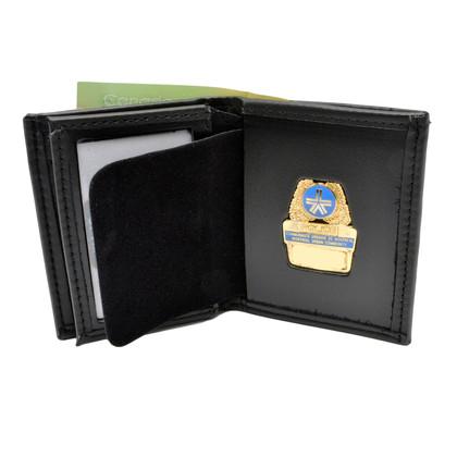 Montreal Police Hidden Badge Wallet