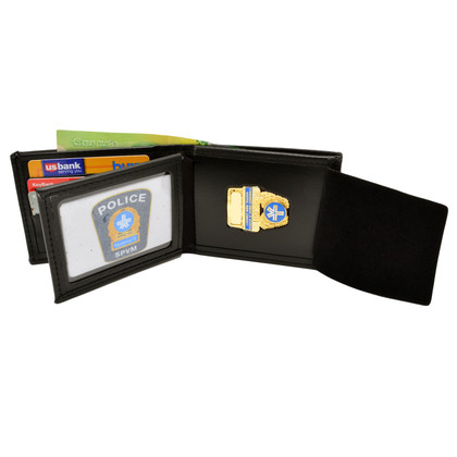 Montreal Police Bifold Credit Card Badge Wallet