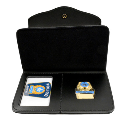Montreal Police Womans All-In-Once Badge Wallet
