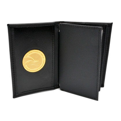 Perfect Fit DEA Medallion Double ID Credential Case Credit Card Wallet