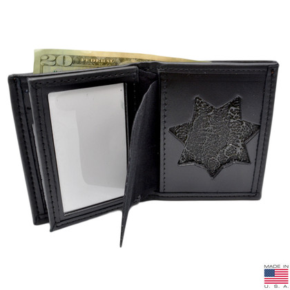 California Highway Patrol (CHP) 7PT Star Flat Badge Wallet