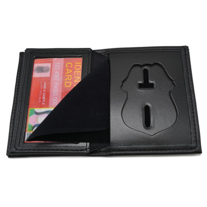 Tampa Florida Police Officer Hidden Badge Wallet- B551