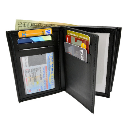 Perfect Fit Double ID Federal Style Wallet