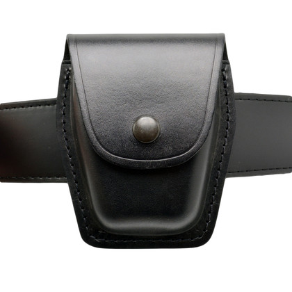 Perfect Fit Moulded Leather Closed Top Handcuff Case - Large ASP Size