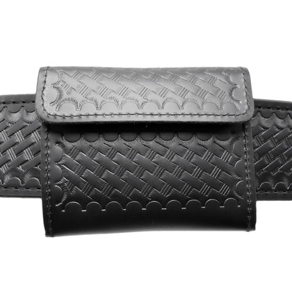Perfect Fit Leather Latex Glove Holder - Basketweave