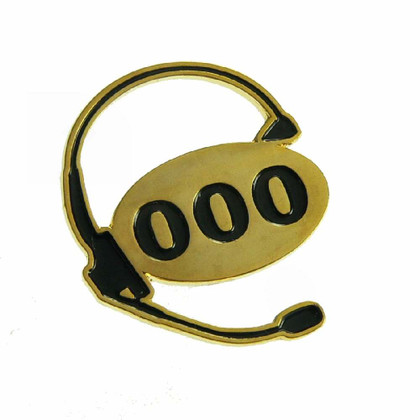 000 Australia Emergency Dispatcher Lapel Pin